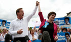 David Cameron with Chloe Smith