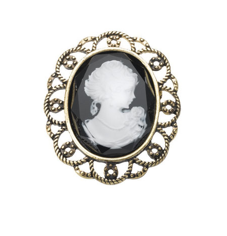 Jewellery - Vintage Cameo Brooch :  pin cameo jewellery accessories