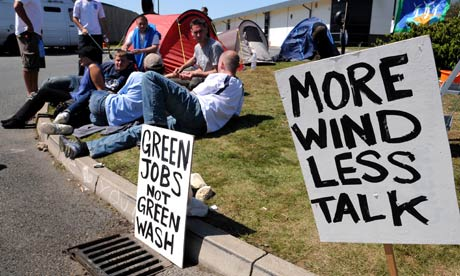 vestas wind systems protest