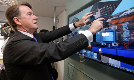 Lord Mandelson visits Cambridge