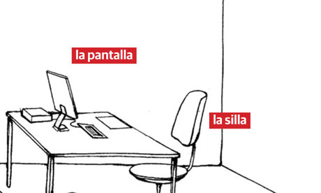 Learn Spanish phrases - at the office