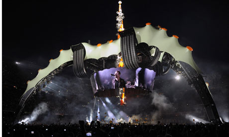 U2 in Barcelona for their