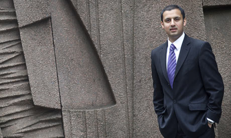 Anas Sarwar, who is expected to succeed his father Mohammed Sarwar as MP for Glasgow Central