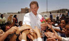 Tony Blair in Basra