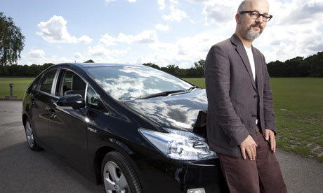 Toby Litt test-drives the new Toyota Prius hybrid car