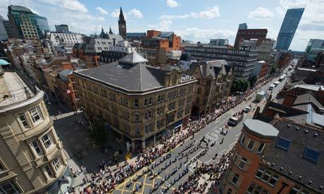 Jeremy Deller's Procession