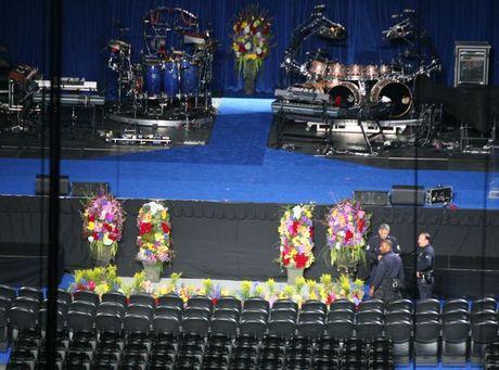 Jackson memorial stage