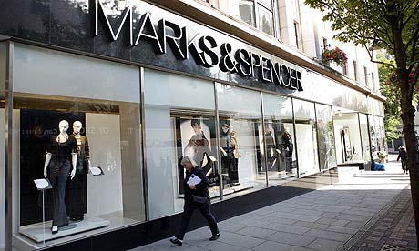 Marks & Spencer store in Nottingham