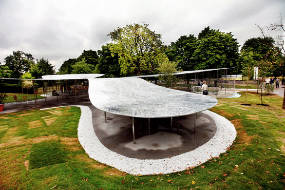 New Serpentine Pavilion: The ninth annual Serpentine Gallery Pavilion opens in London