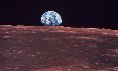 Apollo 11: Earthrise on the moon