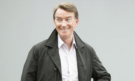 Peter Mandelson arrives back in UK