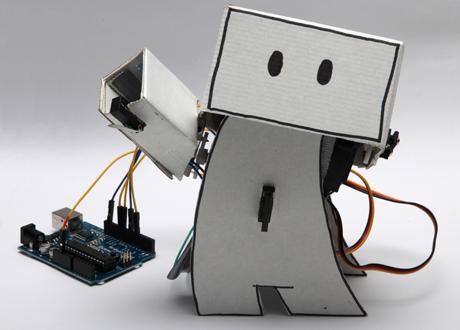 Guardian Hack Day Robot