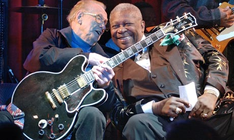 Les Paul and B.B. KingOptimum Releasing50 Marshall StreetLondonLes Paul with B.B. King