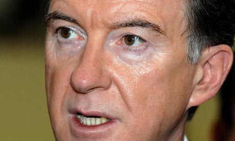 Peter Mandelson overdoes the 'fake-bake'
