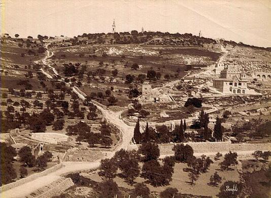Israel-Palestine timeline: Mount of Olives, Jerusalem