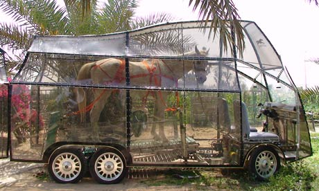 Naturmobil Horsepowered Car LITERALLY Powered by One Horse