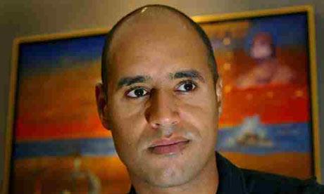 Saif Gaddafi.