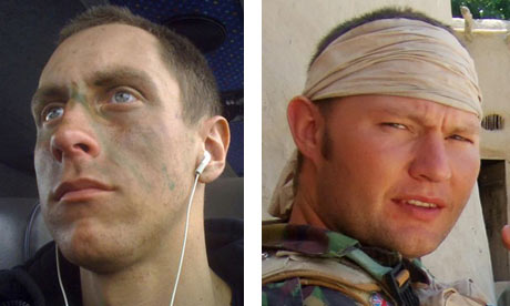 Private Richard Hunt and Sergeant Simon Valentine