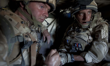 Members of B company of the Black Watch in Afghanistan prepare for Operation Panther's Claw