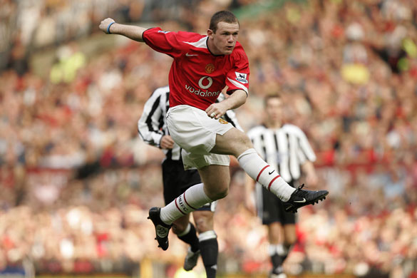 Wayne Rooney Volley Vs Newcastle