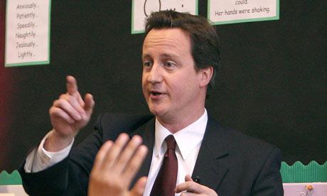 David Cameron pupils