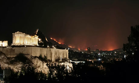 Athens Greece Natural Disasters