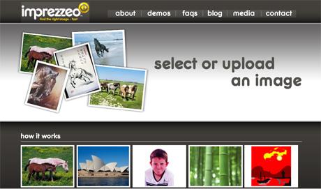 Imprezzeo image search