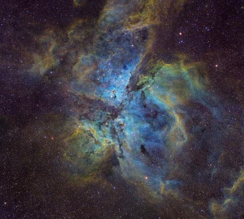 Photography competition: Eta carina nebula