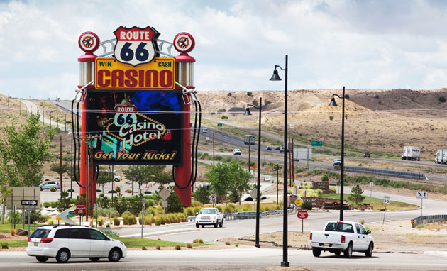 Casino route 66 nm