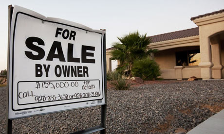 A property for sale in Valle Vista, Arizona - an area hit hard by the recession