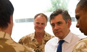 Gordon Brown In Lashkar Gah