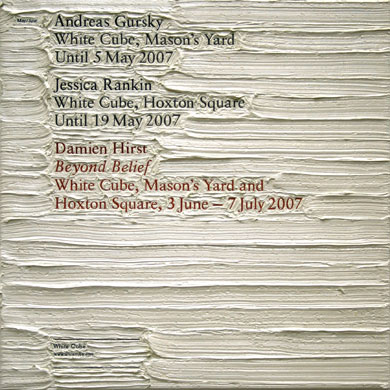 Text and art: Simon Linke, White Cube, 2007