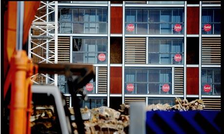 New flats sold in London development