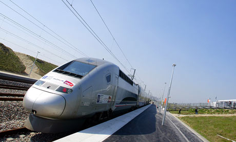 France's V150 TGV fast train