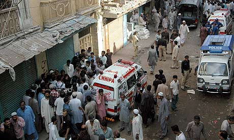 crowd of people. Crowds of people at the scene