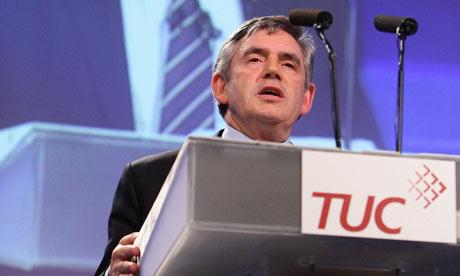 Gordon Brown TUC