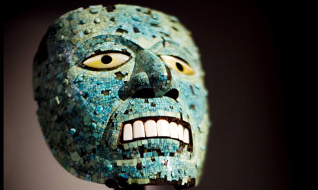 Mosaic mask of the god Tezcatlipoca