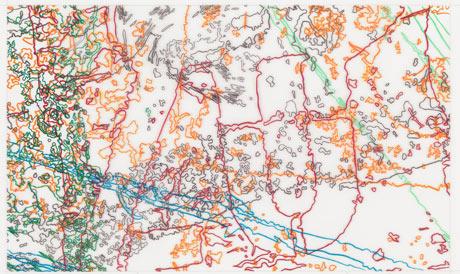 Ingrid Calame #297 Drawing (Tracings from Buffalo, NY)