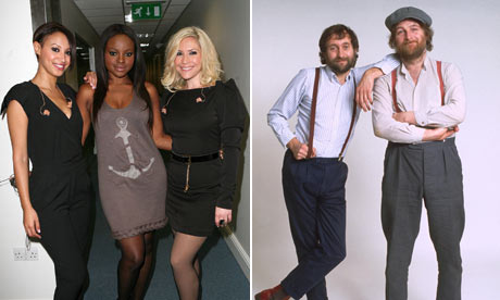 Sugababes and Chas and Dave