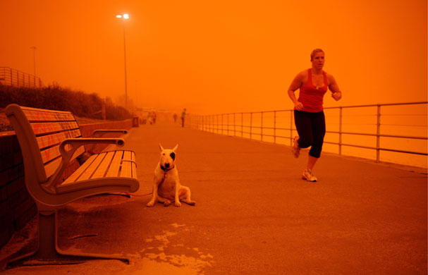 In pictures: Dust storms around the world | Environment | The Guardian