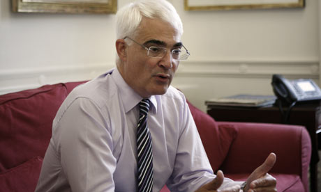 Chancellor of the Exchequer Rt Hon Alistair Darling