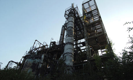 Monbiot blog : pollution. Bhopal, India,  Union Carbide pesticide plant 