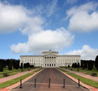 Parliament Buildings, Stormont, Belfast, Northern Ireland.