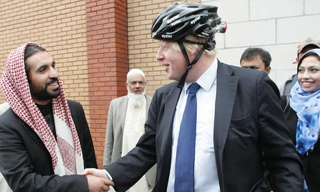 Boris Johnson at East London mosque
