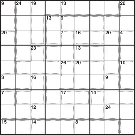 Killer Sudoku Saturday January 16
