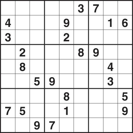 Sudoku Thursday January 14