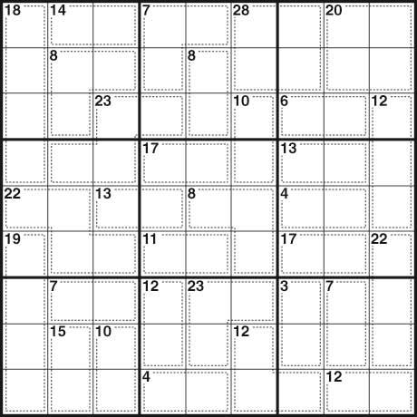 Killer sudoku 174
