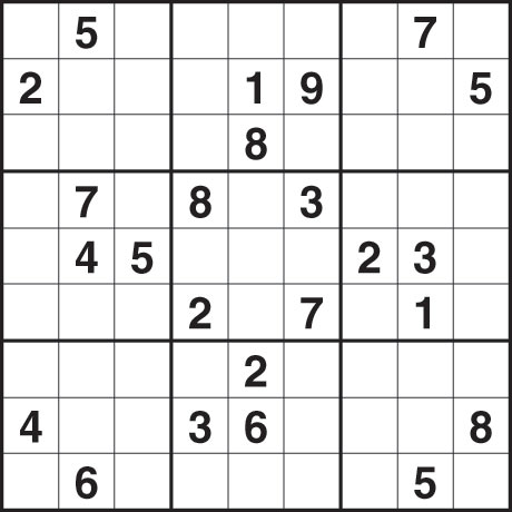 Sudoku 1510M Tues March 16