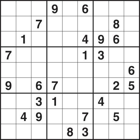 Observer sudoku 2 May 2010