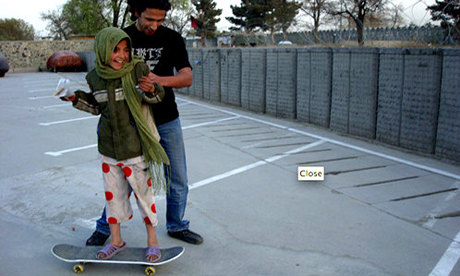 kabul girls club. Kabul girl skateboarding